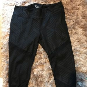 Active Pants with Cute Cut Outs